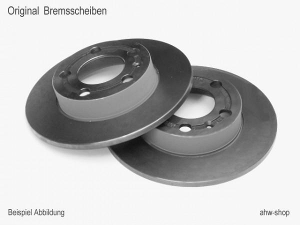 Original Audi VW Bremsscheiben Set Hinterachse 4motion Quattro Bremsen 8D0615601A