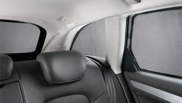 Original Audi Sonnenschutzsystem A4 S4 Limousine 2er Set Seitenscheiben Türen hinten