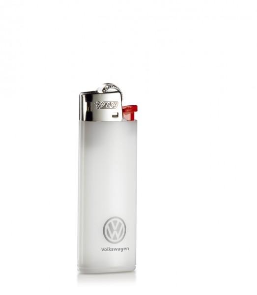 Feuerzeug Original VW weiß Mini Bic Kindersicherung