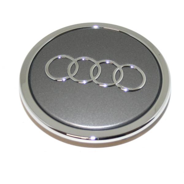 Original Audi Nabenkappe Nabenabdeckung Radkappe Alufelge grau-metallic 8T0601170A7ZJ