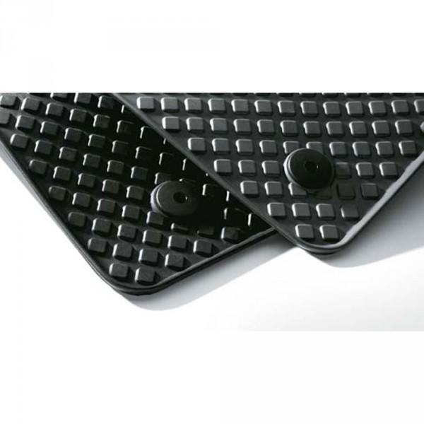 Gummi Fußmatten vorn Original Audi A4 (B5 8D) Gummimatten schwarz