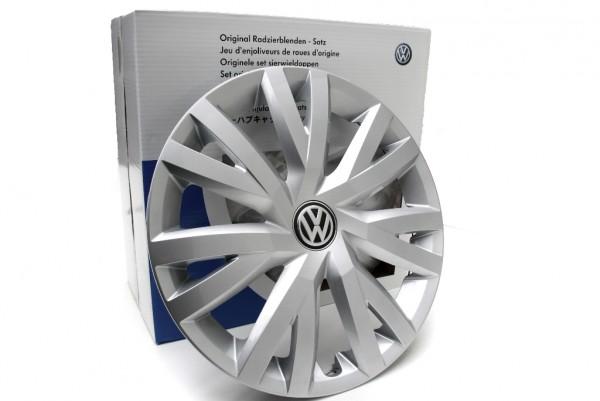 VW Radkappen Komplettsatz Golf 16 Zoll Radzierblende Stahlfelgen Original Volkswagen 5G007145
