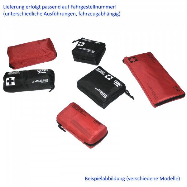 Original Audi Verbandtasche Verbandkasten Sicherheit Erste Hilfe DIN13164 First Aid Kit