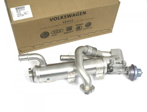 Kühler Abgasrückführung Abgaskühler AGR Original Audi A4 A6 Abgasreinigung 03G131512AL