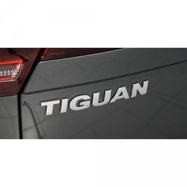Original VW Tiguan Schriftzug hinten Heckklappe Emblem Zeichen chrom