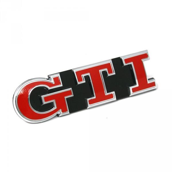 Original VW Golf 7 5G Facelift GTI Performance Schriftzug vorn Kühlergrill Tornadorot