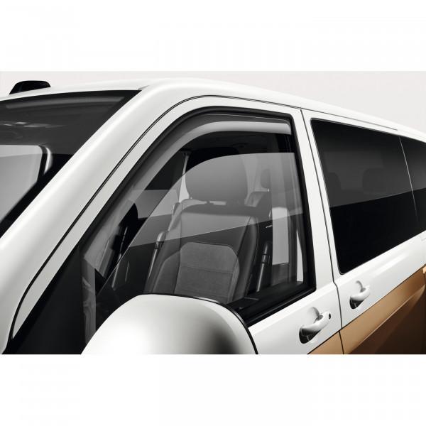 Original VW T5 T6 Bus Multivan Transporter Windabweiser Türen vorne rechts links Acrylglas