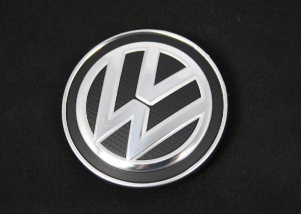 Nabenkappe Original VW Abdeckkappe Nabenabdeckung Alufelge Chromglanz Silber