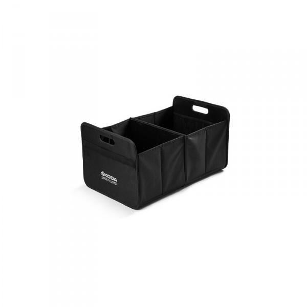 Original Skoda Faltbox Transport Box Accessoires Lifestyle Tasche schwarz