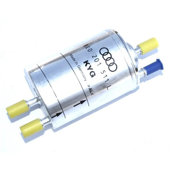 Kraftstofffilter Filter Druckregler Original Audi A4 Benzinfilter 1.8T Frontantrieb 8E0201511L