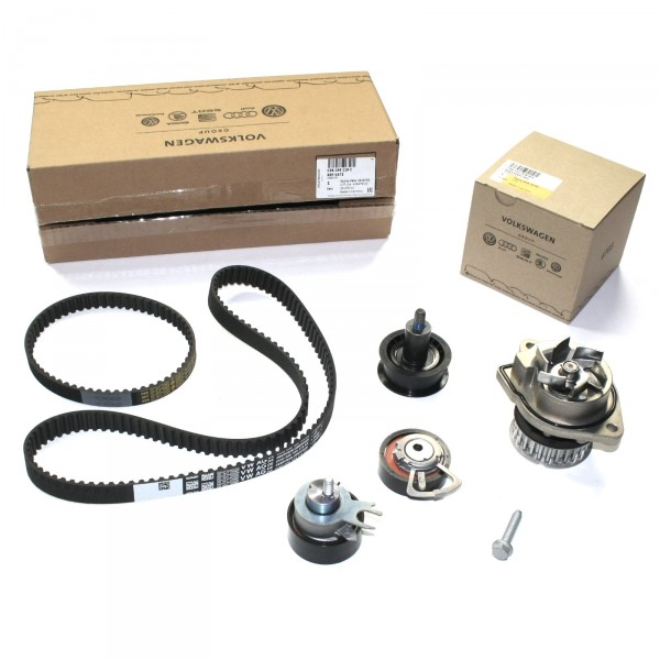 Zahnriemensatz Wasserpumpe Original VW Komplettsatz Zahnriemenwechsel 036198119C