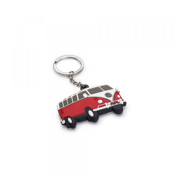 Original VW T1 Schlüsselanhänger Keyring Lifestyle Anhänger rot weiß