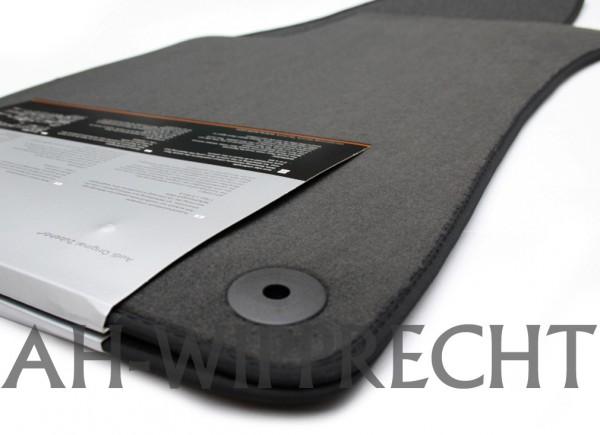 Original Audi A3 S3 (8L) Fußmatten Textil hinten Textilmatten Stoffmatten onyx grauschwarz