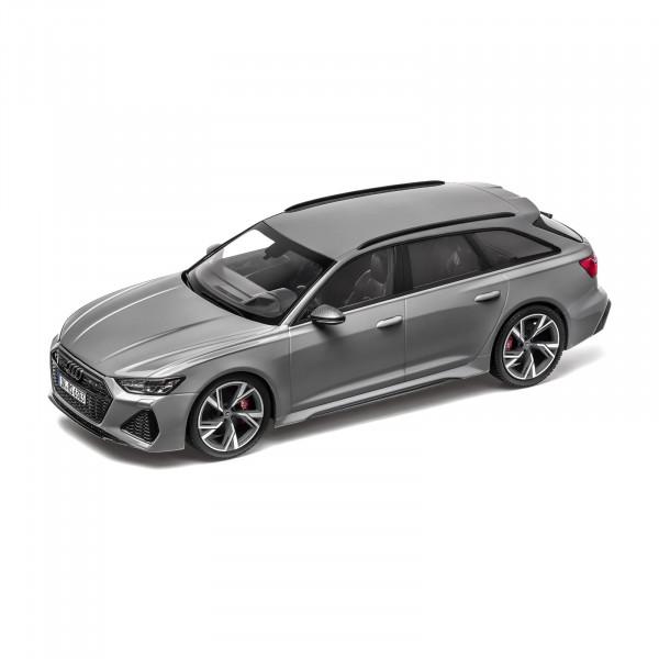Original Audi Sport RS6 Avant grau Modellauto 1:18 Miniatur Modell 5012016251