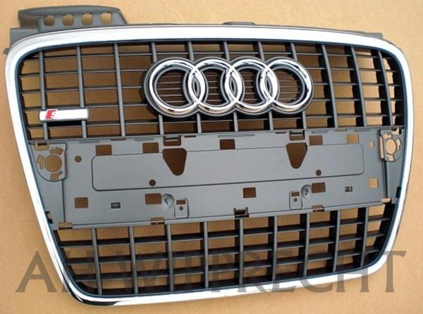 Original Audi A4 8E S-Line Kühlergrill RS4 chrom glänzend grau
