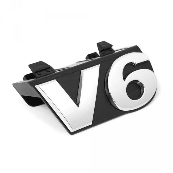 Original VW Amarok V6 Schriftzug vorn Kühlergrill Emblem Logo Zeichen chrom