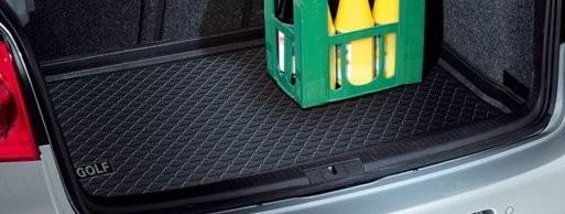 VW Golf 5/6 Kofferraumwanne Gepäckraumschale Kunststoff Einlage, erhöhter Ladeboden