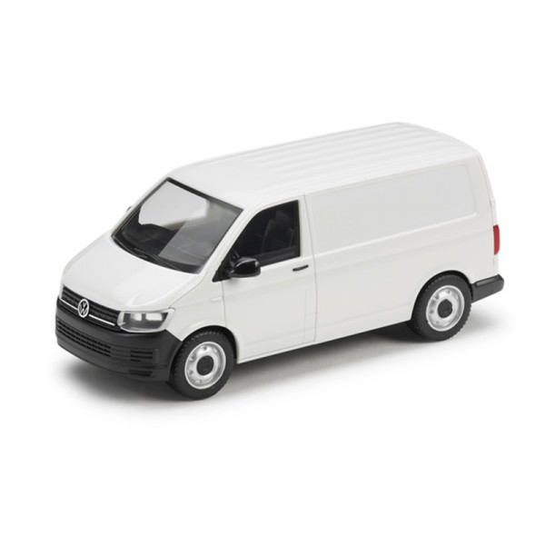 Original VW T6 Kastenwagen Modellauto 1:87 Candy-Weiß Miniatur Modell 7E1099301B9A