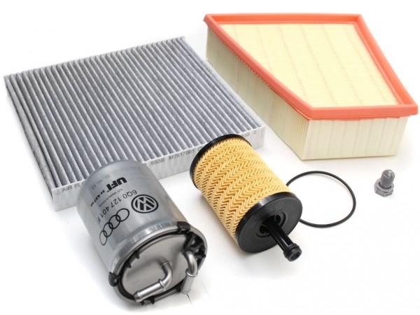 Inspektionspaket Polo 1.4 TDI Original VW Filterpaket Filtereinsatz Service