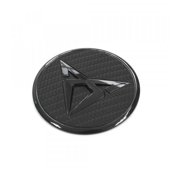 Original Seat CUPRA Zeichen Motorabdeckung Emblem Motorraum Abdeckung schwarz