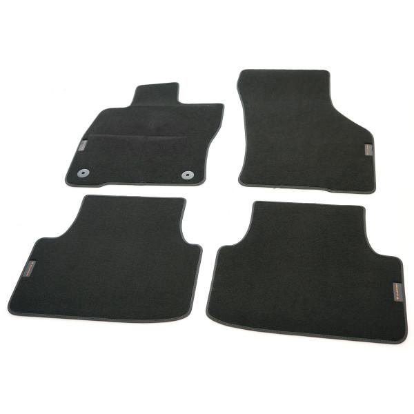 Original CUPRA Formentor Fußmatten Textilfußmatten Satz v+h schwarz Kupfer