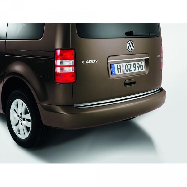 Original VW Caddy 2K chrom Schutzleiste Heckklappe Chromleiste 2K3071360