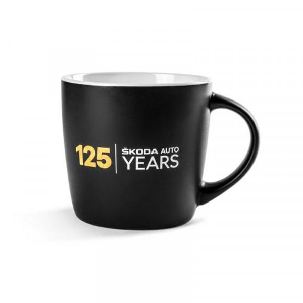 Original Skoda Keramikbecher 125 Jahre Jubiläum Tasse Becher 300ml Accessoires 000069601BS