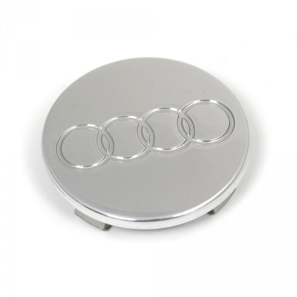 Original Audi Radzierkappe alu-poliert Radabdeckung Kappe Nabenkappe
