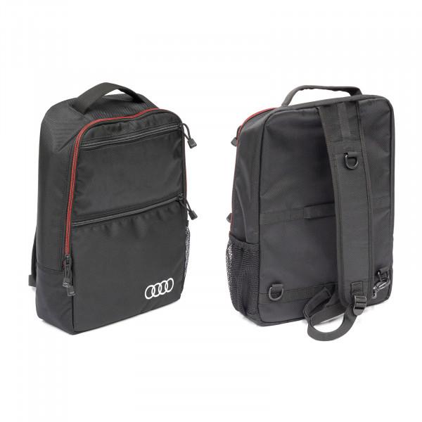 Original Audi Querträgertasche Ringe Logo Tasche Sling Bag schwarz 4KE071156A