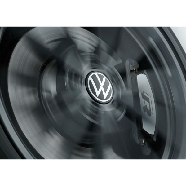 Original VW Dynamische Nabenkappen New Volkswagen Logo Leichtmetallfelge Chromfarben