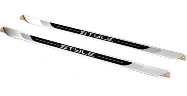 STYLE Aluminium Tuning Einstiegsleisten Set (Golf VI)