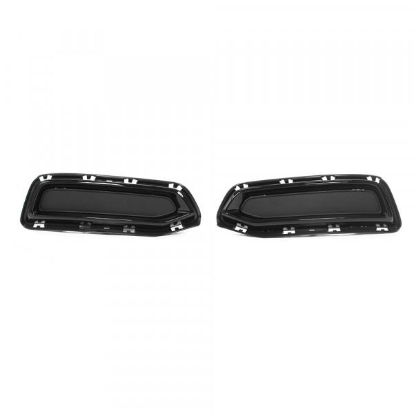 Original Audi A6 (C8 4A) S-Line Blenden Set schwarz glänzend Black Edition