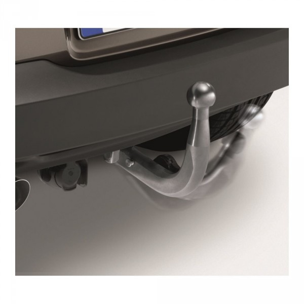 Original VW Tiguan 5N Anhängevorrichtung schwenkbar mechanisch Anhängerkupplung