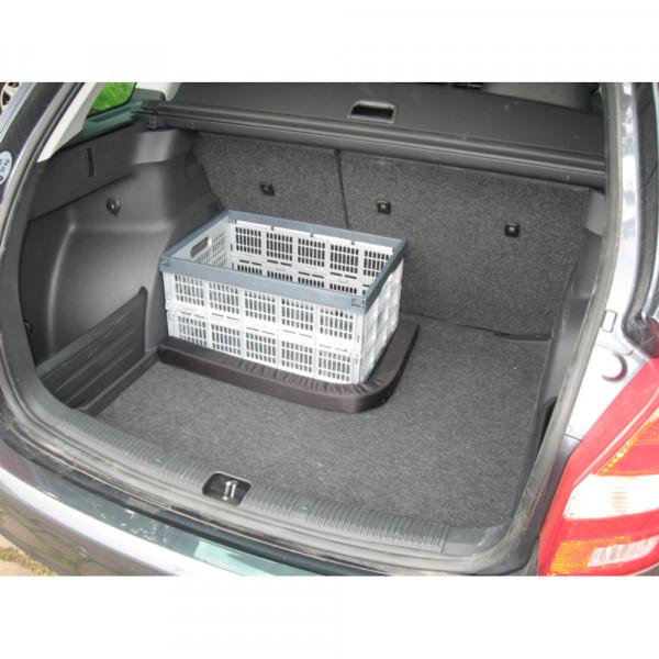 Original Skoda Gepäckfixierung Kofferraum Sicherheit Trennelement schwarz