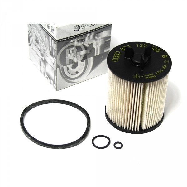 Original Audi A2 Kraftstofffilter Filtereinsatz mit Dichtung Dieselmotor TDI