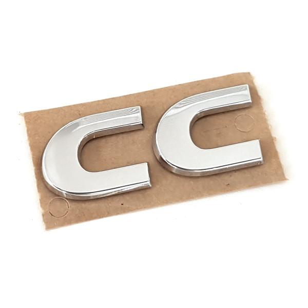 Original VW Schriftzug Volkswagen CC Emblem Logo chrom glänzend 3C8853687D739