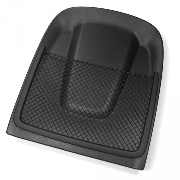Original Audi A4 A5 (B8) Rückenlehnenabdeckung mit Ablagenetz schwarz