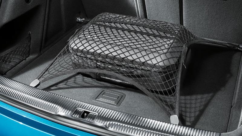 gep cknetz original audi q3 rsq3 kofferraum netz zubeh r. Black Bedroom Furniture Sets. Home Design Ideas