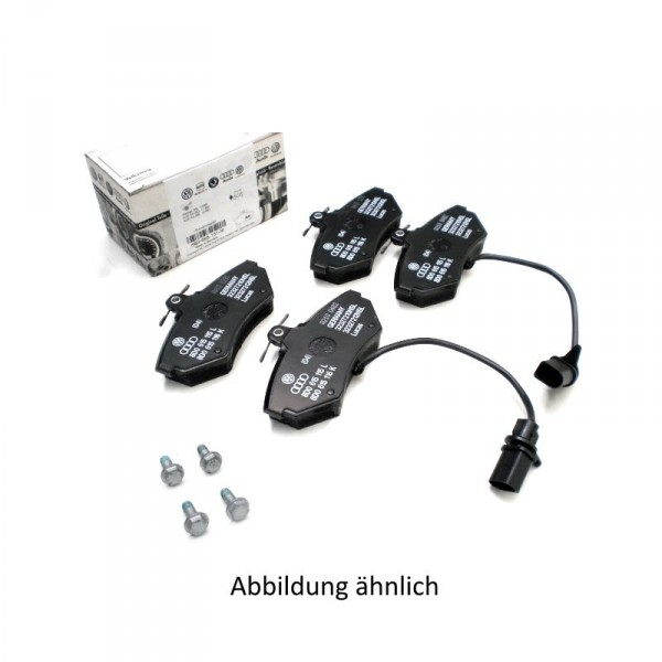 Original Audi Bremsbeläge Vorderachse Bremsen 1LX Beläge 4B0698151AE