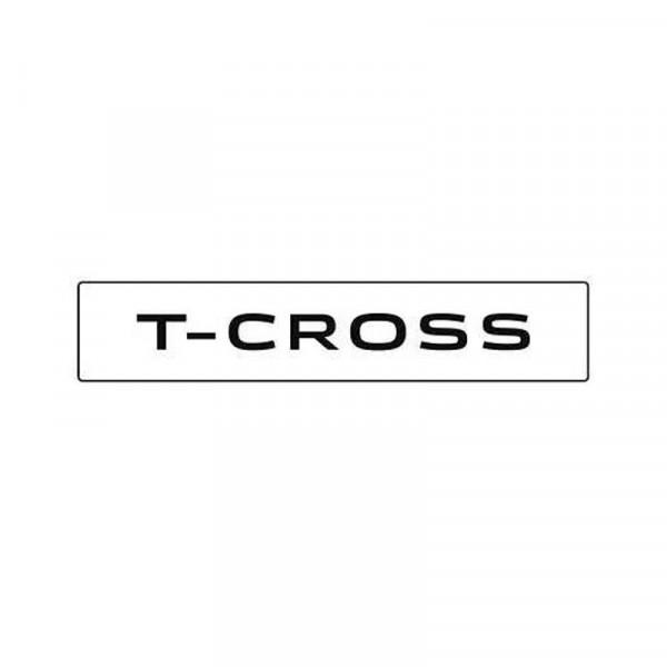 Original VW Kennzeichenschild T-Cross Nummernschild Kennzeichen Typenschild 2GM071801