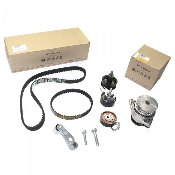Zahnriemensatz Wasserpumpe 1.6 Benzin Original VW Komplettsatz Zahnriemenwechsel 036198119E