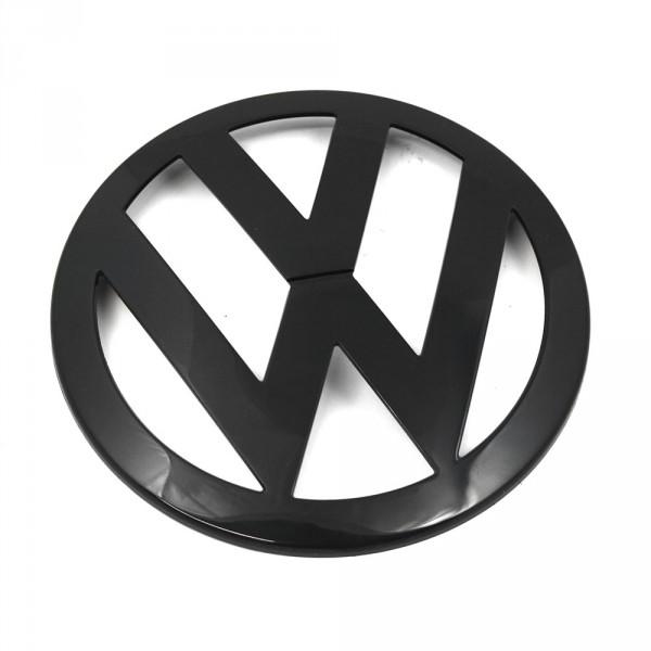 Original VW T5 Transporter VW-Emblem vorn Kühlergrill Logo Zeichen schwarz