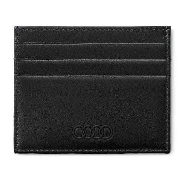 Original Audi Kartenetui Geldkarte Mappe Kreditkarte Case Etui schwarz 3151900500