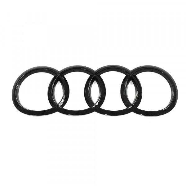 Original Audi A5 (B9 F5) Sportback Zeichen Heckklappe Ringe Black Edition Emblem Blackline Logo