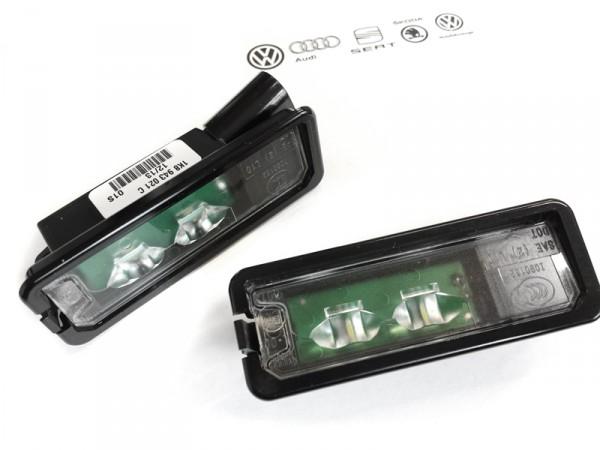 VW LED Kennzeichenbeleuchtung (Golf Passat Scirocco Eos Polo)