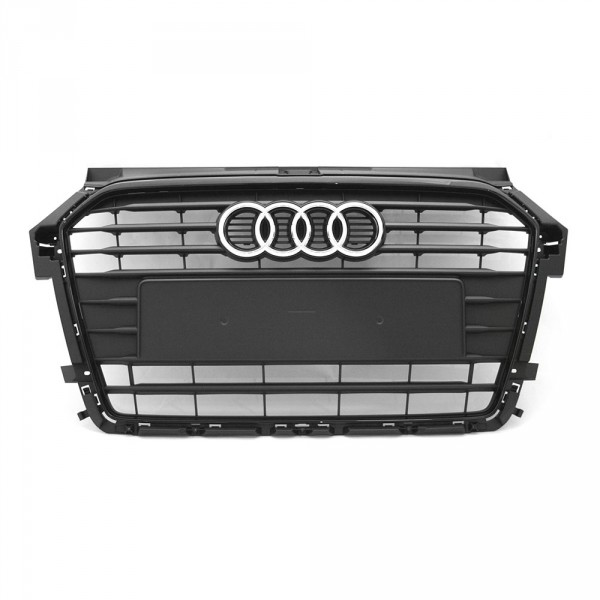 Original Audi A1 (8X) Facelift Kühlergrill Exterieur Grill schwarz matt