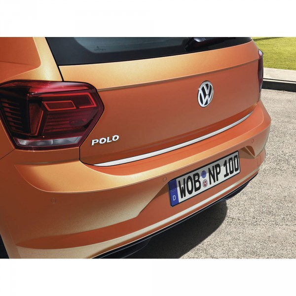 Griffleiste Kofferraum Heckklappenleiste Abdeckung für VW POLO VARIANT 6KV5