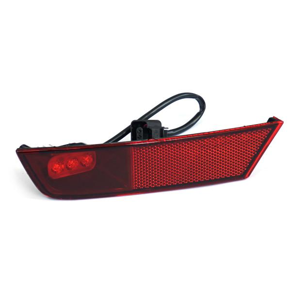 Original VW Skoda LED-Nebelschlussleuchte links Rückstrahler Rückleuchte Reflektor