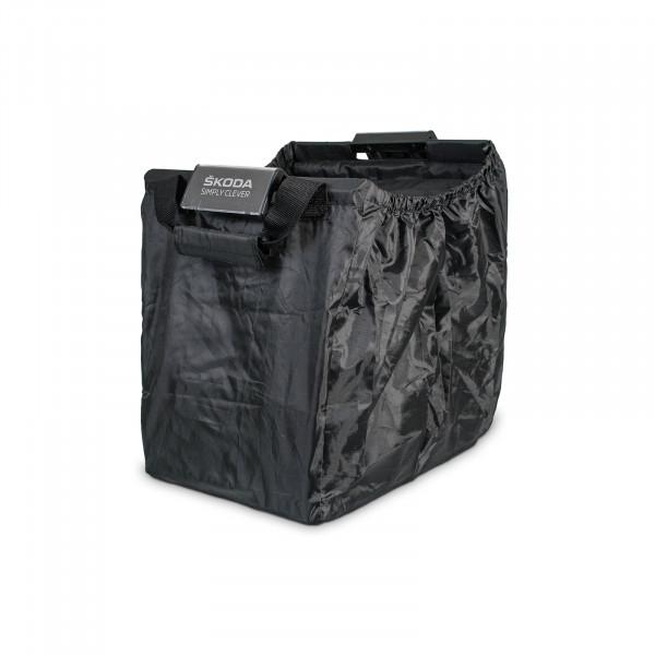Original Skoda Easy Shopper Faltbox Tasche Kühlfach Einkaufswagentasche schwarz