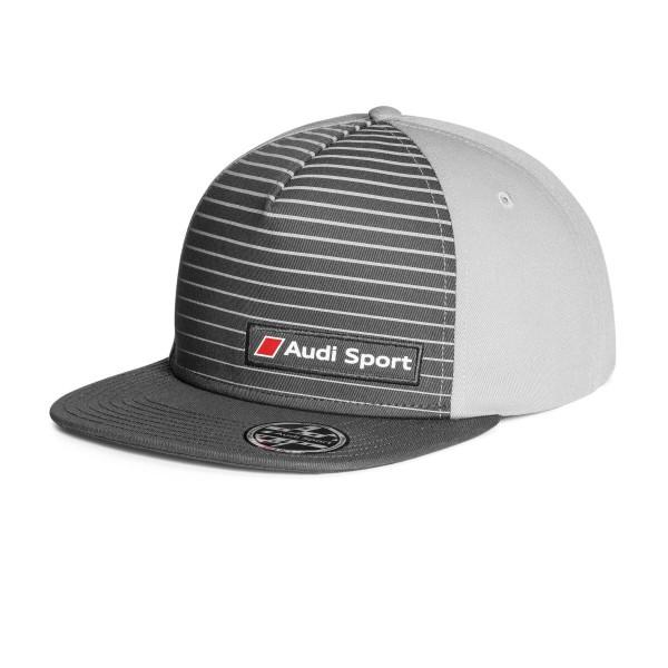 Snapback Cap Basecap grau Original Audi Sport Mütze unisex